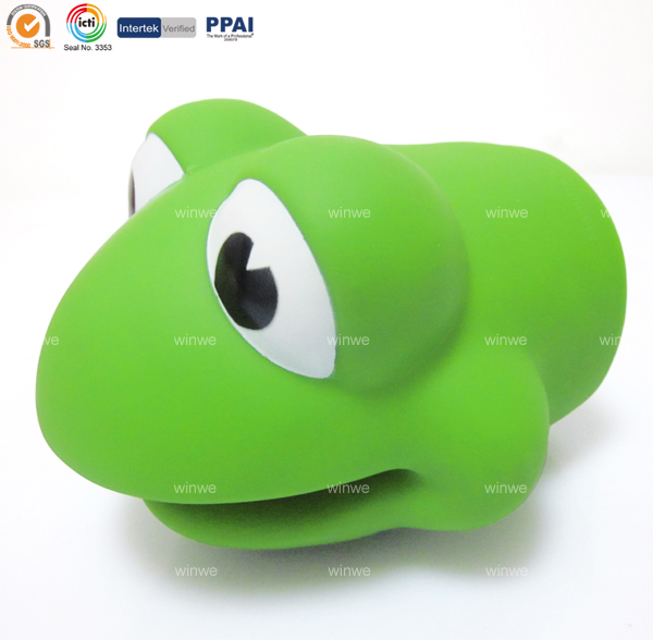 OEM baby safey bath water spout cover soft plastic Frog shape
