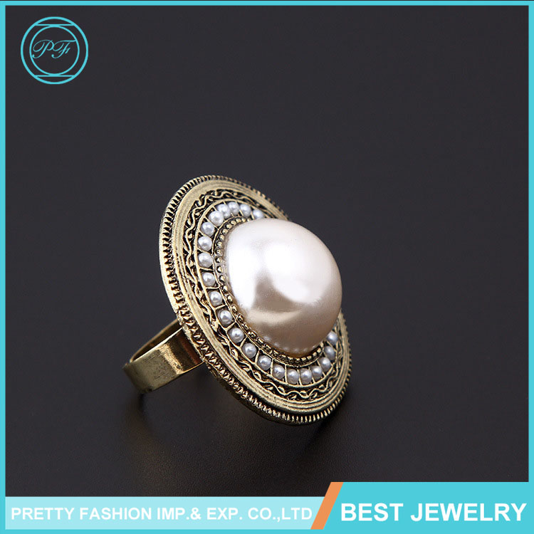 Wholesale Various Fashion Arab Men Ring Latest Customizable Pearl ...