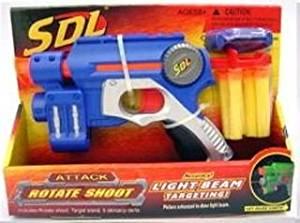 Dart Gun Sdl Toy Foam High Powered Dart Gun [Toy]