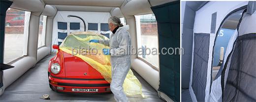 en plein air portable gonflable peinture en a rosol tente pour voiture pulv risation utilis. Black Bedroom Furniture Sets. Home Design Ideas