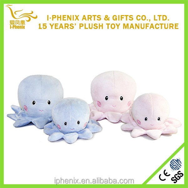 Fat baby octopus plush toy eco-friendly plush octopus OEM stuffed toy