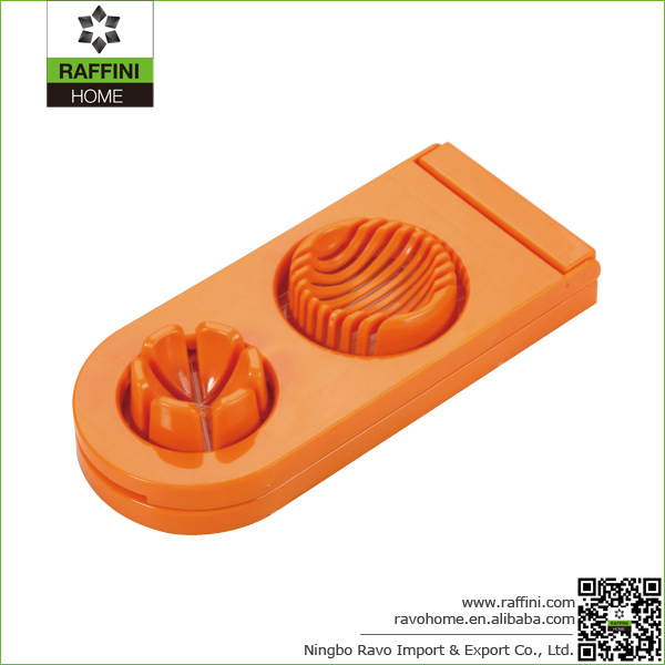High Quality Hand Tool Plastic Egg Cutter