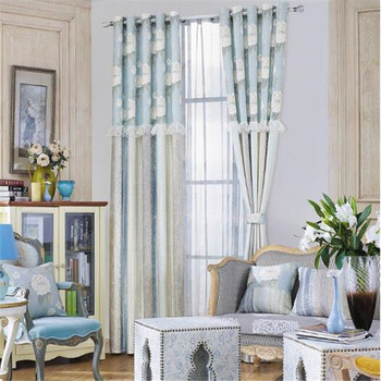 Modern Curtains With Sunscreen Fabric Transpa Sheer