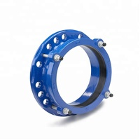 EN545 ductile cast iron wide range flange adaptor for pvc pipe