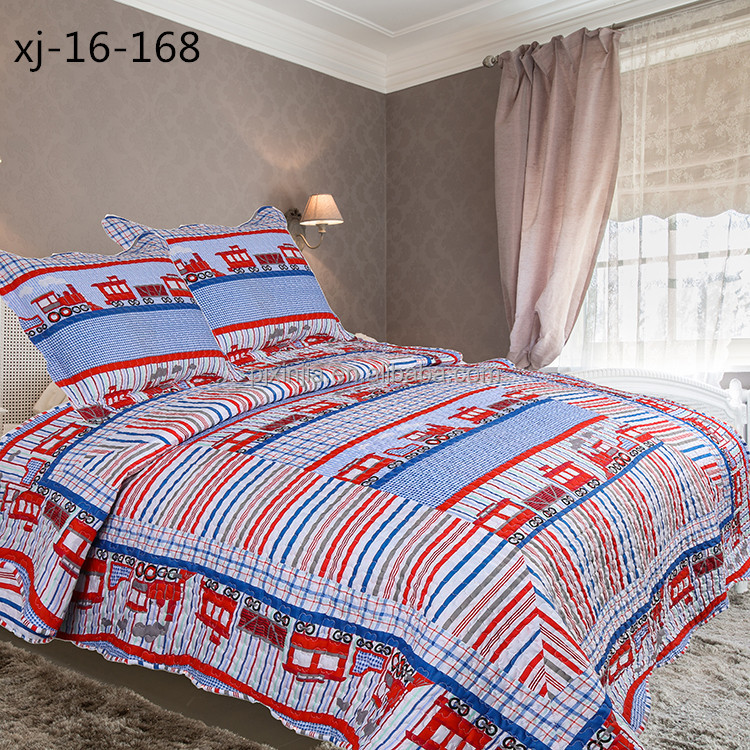 Excellent quality good prices home textile warm lightweight kids bedding set cotton