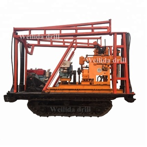 Hydraulic drill tower crawler type coring drilling rig