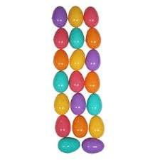 Charlee D's 20 Ct Fashion Plastic Eggs, Party Eggs, Fillable Easter Eggs