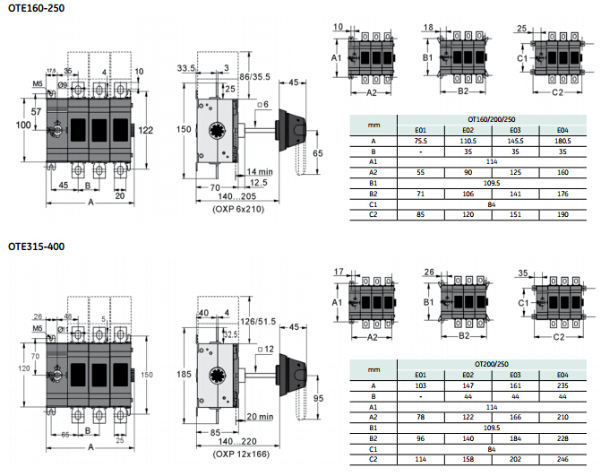 Ote250a 400a 630a 3 phase isolator switch view isolator switch csq ote250a 400a 630a 3 phase isolator switch asfbconference2016 Image collections