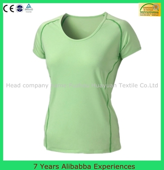 Wholesale Plain Cheap Price 100 Polyester T Shirts Women