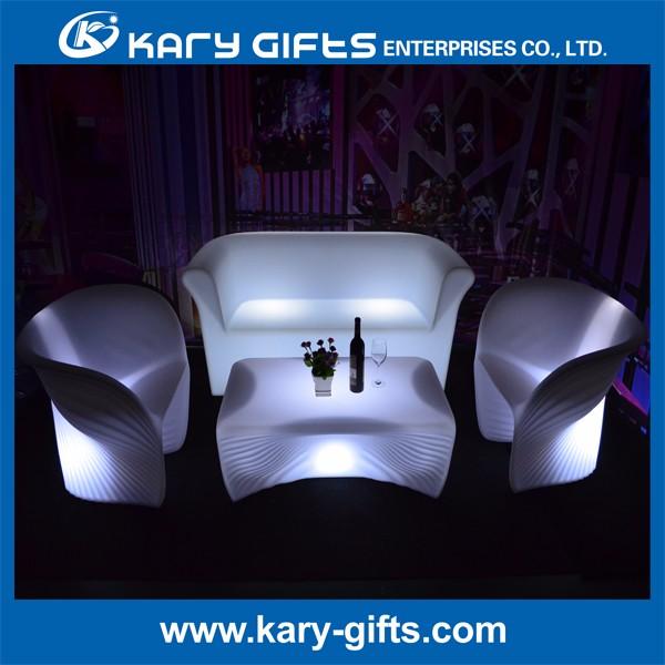 Commercial Used LED Sofa Hookah Lounge Furniture