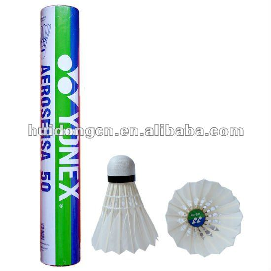 Hot sale professional Badminton ball wholesale Best Durability Top Grade Goose/Duck feather Shuttlecock volante customized logo