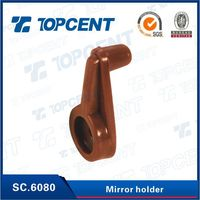 [SC.6080] furniture hardware plastic cabinet glass mirror holder