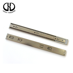 Functional oem service 45mm damper zinc rail drawer slide