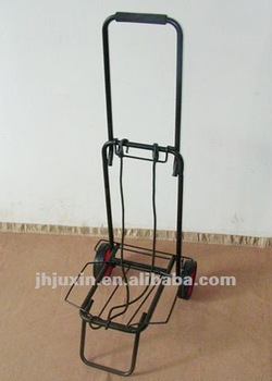 Portable Luggage Cart,Airport Luggage Trolley,Easily Folded-up ...