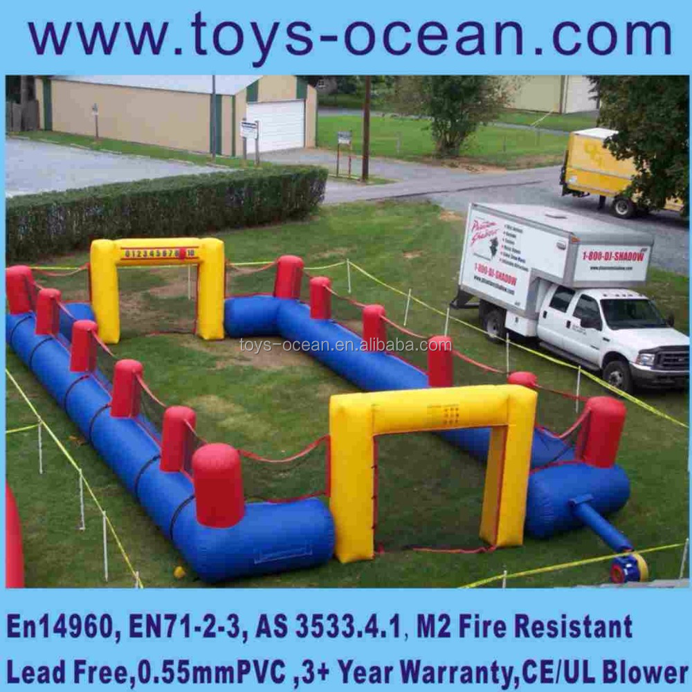2016 Hot sales china supplier durable inflatable football field, sport game inflatable