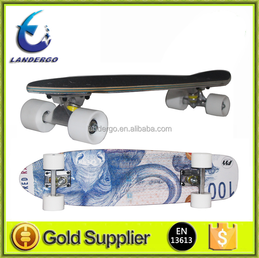 yongkang factory price entry level concave customized printing 100% canadian maple 31inch Skateboard Complete