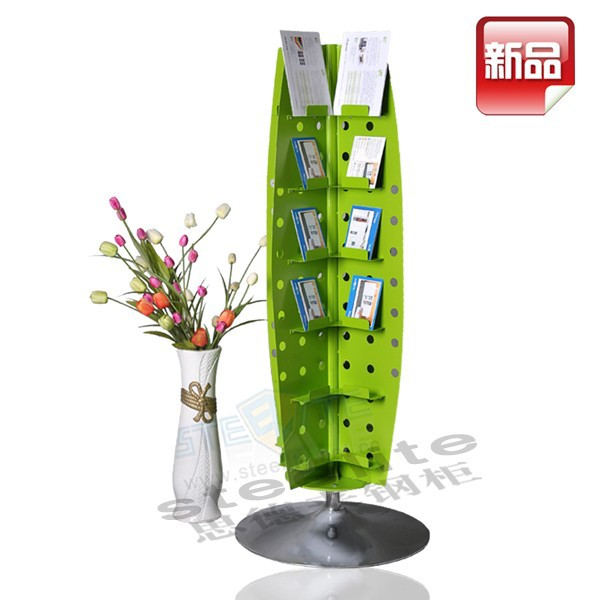 New Arrival Portable Metal Roating Bookshelf /Tree Shape Book shelves