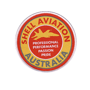 Australia logo embroidery patch laser cutting iron on badge