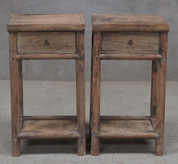 Chinese Antique Recycle Elm Wood Asian Furniture