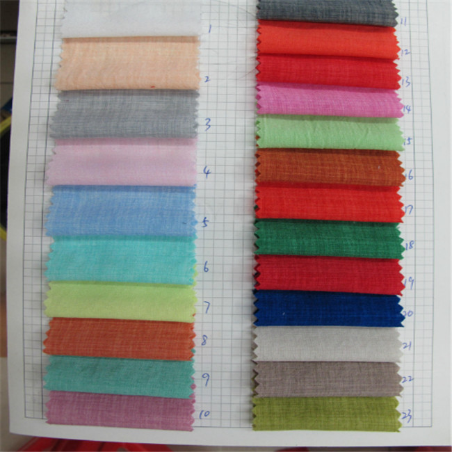 wholesale 100polyester 200gsm fabric linen like for clothing