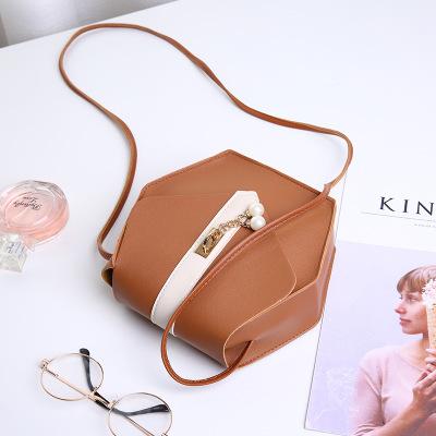 9F120 wholesale 2019 fashion pu leather sweet simple crossbody classic shoulder mini woman bag