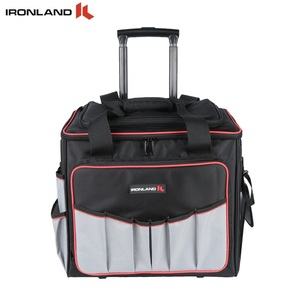 2018 China supplier waterproof canvas trolley tool bag