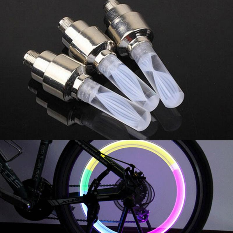 Premium 32 LED Flashing Colorful Bicycle Wheel Tire Spoke Signal Light For Bike