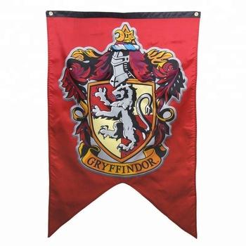 Harry Potter Gryffondor Maison Mur Bannieres Ensemble De 4