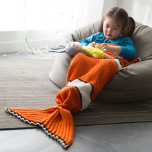 Sleeping Bag Child Fleece Mermaid Tail Blanket