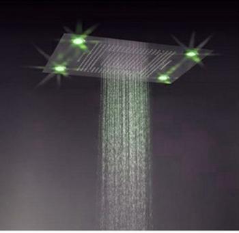 600 800mm Plafond Gemonteerde Multifunctionele Led Regenval Waterval