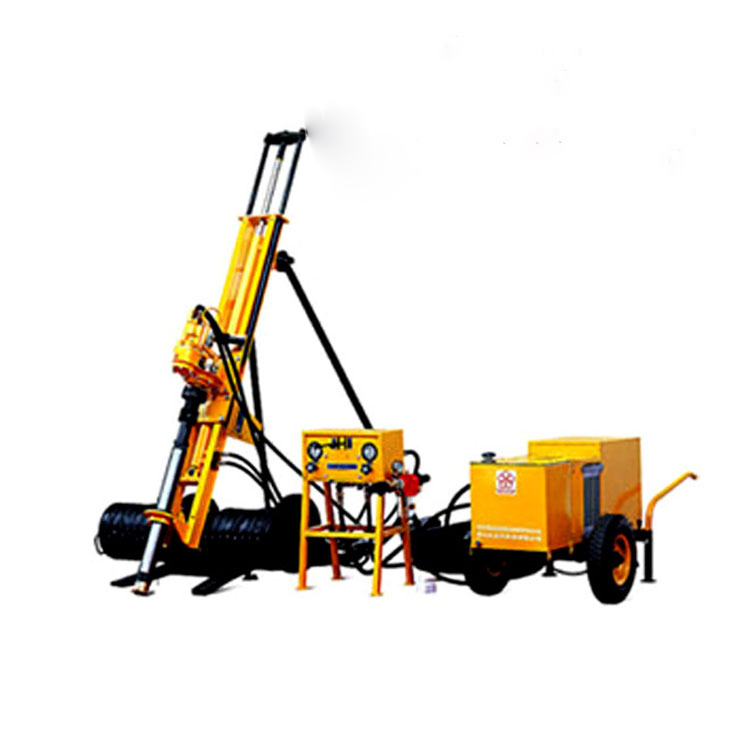 Easy Operation 7.5kw Hongwuhuan Drill Dth Rotary Drilling Rig For Sales Pneumatic High Quality Small Boring Machines
