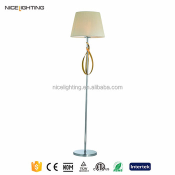 Alibaba Gold Supplier Decorative Standing Crystal Chandelier Floor Lamp