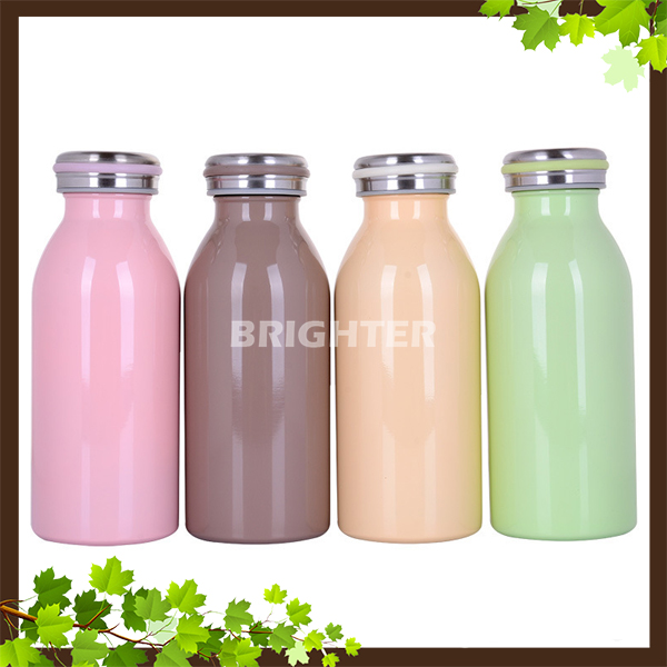VB002 Double Wall Milk Bottle OEM Design 4 You Vacuum Flask