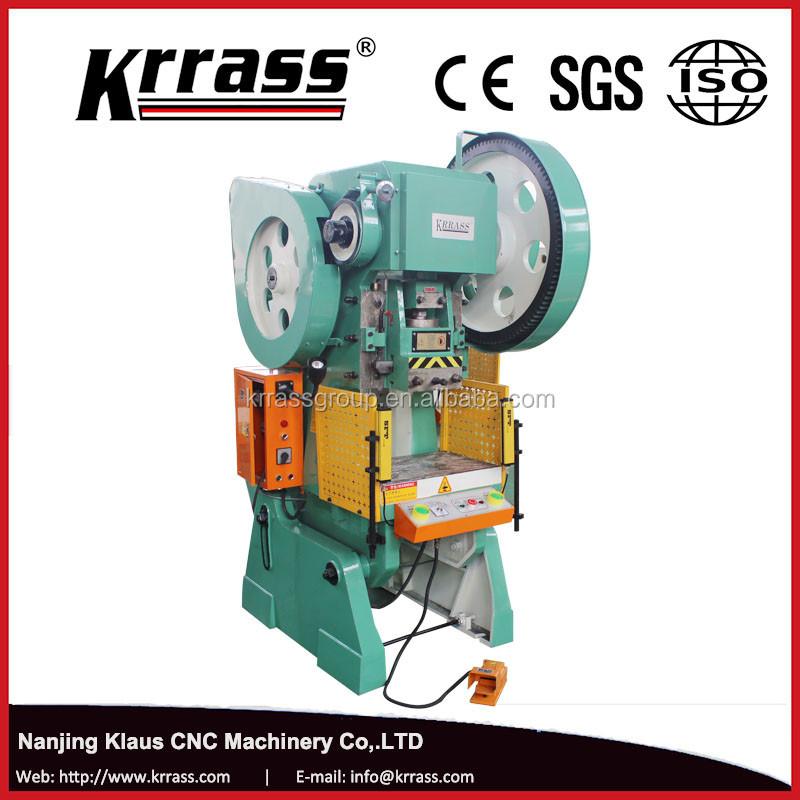 In Stock 80 Ton Punch Eccentric 25 Tons C Frame Power Press 40 Tons - Buy  25 Tons C Frame Power Press,Mechanical Presses,Single Crank Press Machine