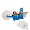 Square tissue paper folding machine used for napkin paper making factory