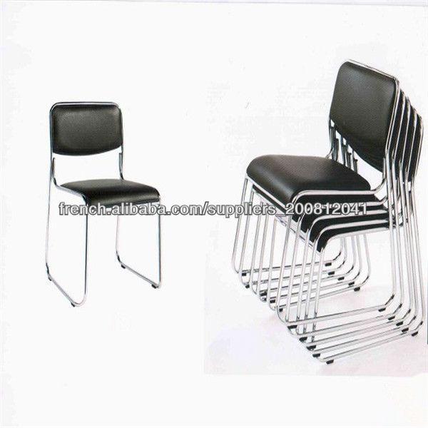 chaise vente chaude en cuir de bureau pas cher visiteur chaise