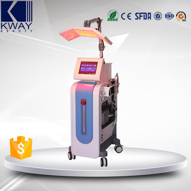 Multifunction 7 in 1 PDT Facial Beauty Equipment/Skin Rejuvenation Water Oxygen Machine With CE Certificate