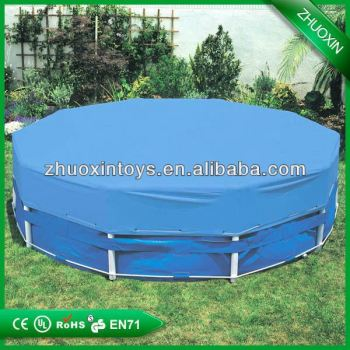 Most popular bouncer slide pool above ground frame for Most popular above ground pools