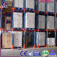 logistic electronic equipment drive in pallet racking