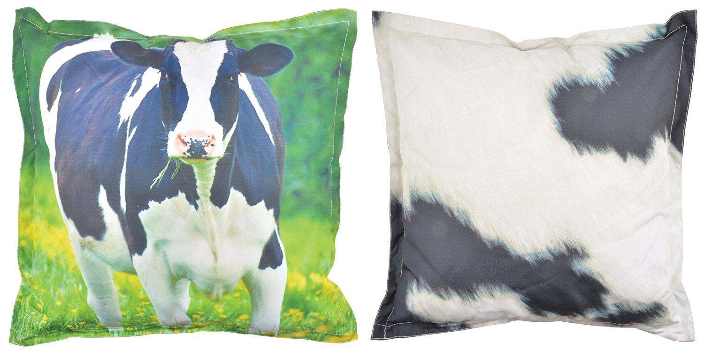 Esschert Design BK006 Outdoor Cushion, Cow Large