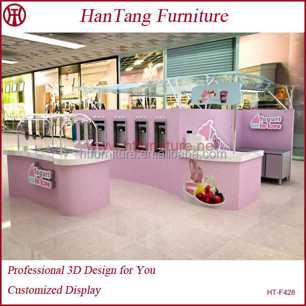 High end shopping mall cafe bar interior designs ideas for sale