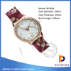 Discount Cute Exporter PU Leather Fashion Watch , dress watch ,lady watch
