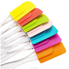 Best Plastic Wholesale Non-toxic Patterned Printed Fda Approved Personalized Custom New Design Silicone Spatula