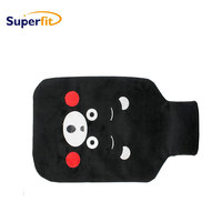 Body warm function animal hot water bottle cover