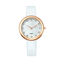 Analog Oem Quartz Personalized Brand Watch With Leather Bracelet With Singapore Movement