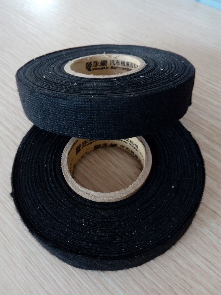 black nonwoven fabric wrapping tape automotive wire. Black Bedroom Furniture Sets. Home Design Ideas