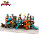Kids amusement park used outdoor playground equipment and children playground equipment