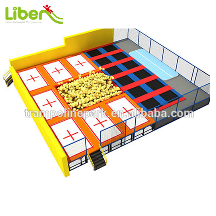 Commercial Trampolines For Amusement Parks Fitness Trampoline
