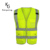 Factory Price (High) 저 (가시성 (visibility) Yellow Color 반사 Safety 옷 Vest