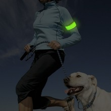 Flashing LED Sports Armband Safe at night for outside running